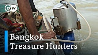 Treasure hunting in the rivers of Bangkok | DW Feature - DEUTSCHEWELLEENGLISH