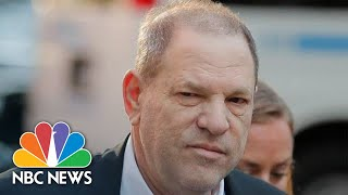 Harvey Weinstein Surrenders To police On Sex Charges | NBC News - NBCNEWS