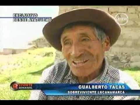Lucanamarca, Testimonio de victimas del terrorismo Vol. 01