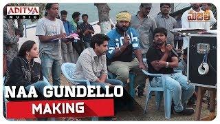 Naa Gundello Making || MAJILI Songs || Naga Chaitanya, Samantha, Divyansha Kaushik - ADITYAMUSIC