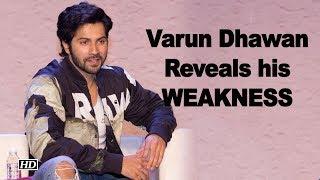Varun Dhawan Reveals his Untold WEAKNESS - IANSLIVE