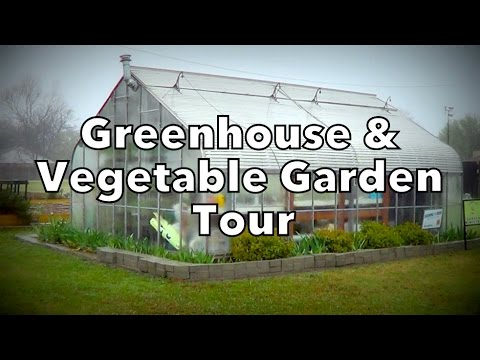 Greenhouse & Vegetable Garden Tour with Local Gardener