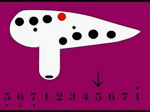 12 hole Ocarina: Amazing Grace