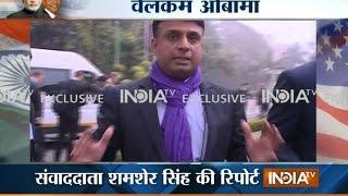 India TV Exclusive: Delhi's tight preparations to welcome American President Barack Obama - INDIATV