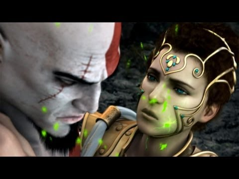 God of War 2 All Cutscenes Kratos Movie  - Full HD