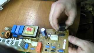 Ремонт электронного  модуля (блока управления )Самсунг, Samsung.