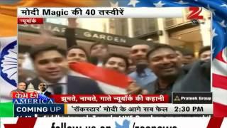PM Modi's magic sweeps America off its feet - ZEENEWS