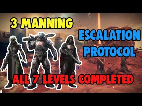 3 Man Escalation Protocol #MOTW