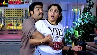 Naa Alludu Movie Scenes   Jr NTR Comedy with Ramya Krishna   Sri Balaji Video - SRIBALAJIMOVIES