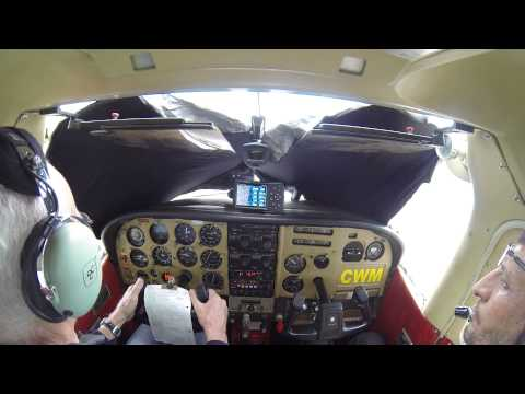 IFR training with Taufik, Cessna R182,  4X-CWM
