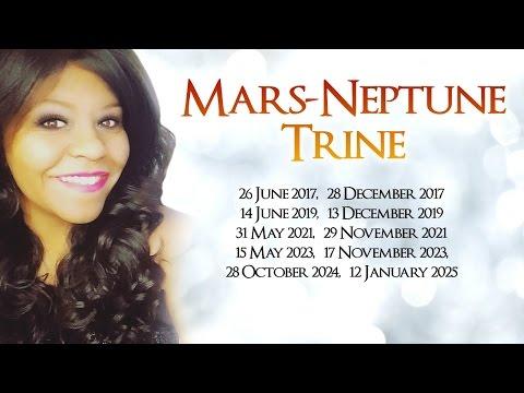 MARS AND NEPTUNE TRINE IN TRANSIT