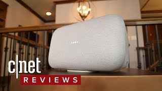 Google Home Max review: A Google speaker built to rock - CNETTV