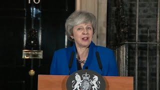 May speaks outside Downing Street after confidence vote - WASHINGTONPOST
