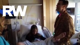 بالفيديو..زوجة المغني روبي ويليامز تضع مولودهما الثاني