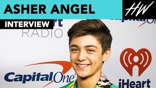 Asher Angel Shows Us His Justin Timberlake Dance Moves!! | Hollywire - HOLLYWIRETV