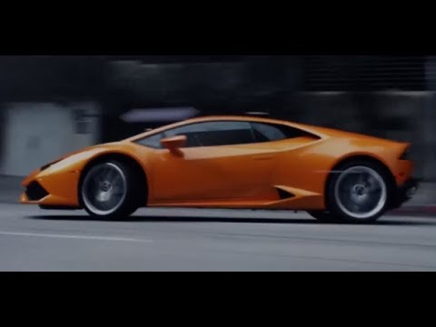 Lamborghini Huracán Engine Sound Fast Driving Exhaust Sound Video Sexy Commercial CARJAM TV HD 2014