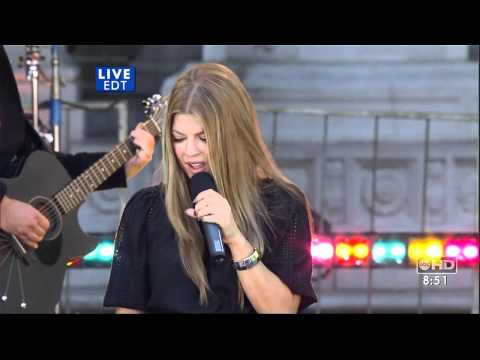 Fergie Big Girls Dont Cry Live HQ good morning america 05 25 07 