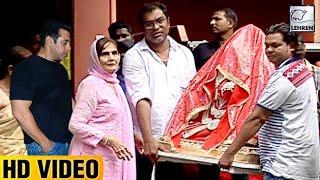 Salman's Mother Salma Khan Welcomes Ganpati At Home | LehrenTV