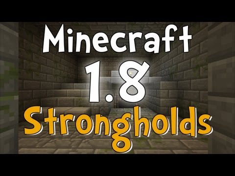 Minecraft Beta 1.8 Strongholds and Libraries