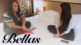 Will Nikki Bella Tell Nia Jax Who's Sliding Into Her DMs? | Total Bellas | E! - EENTERTAINMENT