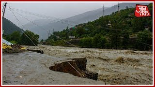 Beas River Overflows As Heavy Rains Continue To Lash Himachal   Himachal Flood Updates - AAJTAKTV