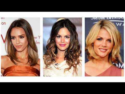 Damskie fryzury średnie