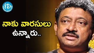 My Successor is my Thoughts - Director Ram Gopal Varma | Ramuism 2nd Dose - IDREAMMOVIES