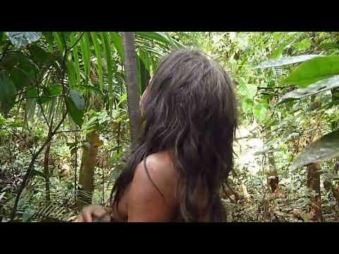 A Huaorani: Using Real Blowgun with Poisoned Darts