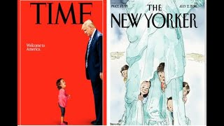 Netizens Hail Time's And New Yorker's Powerful Covers - ABPNEWSTV
