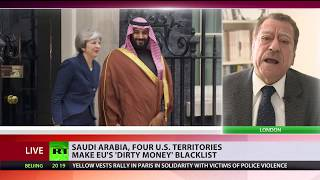 Saudi Arabia and 4 US territories make EU's 'dirty money' blacklist - RUSSIATODAY