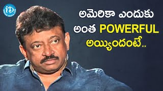 Americans Respect Thoughts, Not Religion - RGV | RGV About Power | Ramuism 2nd Dose | iDream Movies - IDREAMMOVIES