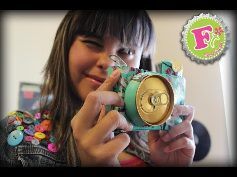 DIY: CAMARA de LATAS Arizona (Decoración) // Arizona Tea Camera