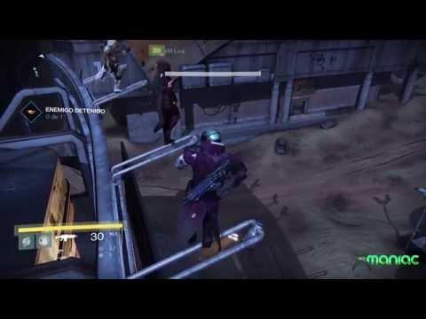 Baile de altura en Destiny