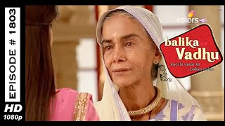 Balika Vadhu : Episode 1795 - 28th January 2015