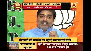 UP RS Poll: BJP MP Prem Shukla says, 'Gorakhpur and Phulpur results won't effect BJP in wi - ABPNEWSTV