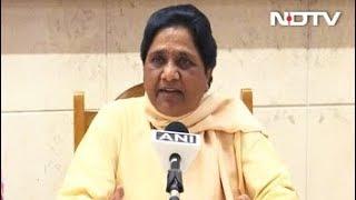 मिशन 2019 : मायावती ने दिया महागठबंधन को झटका - NDTVINDIA