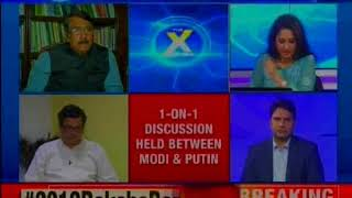 Modi Putin Meet: India becomes global pivot; focus on AF-Pak is back — The X Factor - NEWSXLIVE