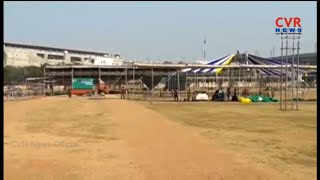 International Kite Festival Arrangements At Parade Ground | Secunderabad | CVR News - CVRNEWSOFFICIAL