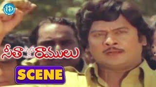 Seetha Ramulu Movie Scenes - Workers Boycott On Propriter Jayaprada || Krishnam Raju - IDREAMMOVIES