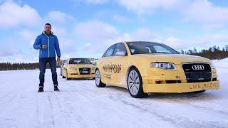 Шины Nokian Hakkapeliita 8 и R2 Тест-Драйв Игорь Бурцев / Tyres Test Poligon White Hell Finland