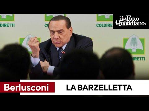 Berlusconi e la barzelletta sull'agricoltore. Poi il mistero finale di una battuta