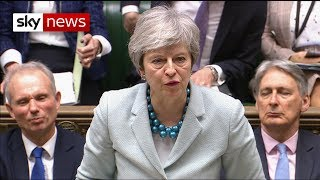 Breaking News: PM admits 'insufficient support' for third vote - SKYNEWS