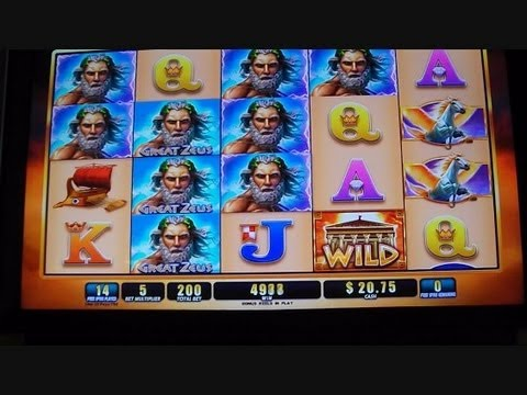 NEW SLOT! Great Zeus MAX BET Free Spins Bonus Round Win