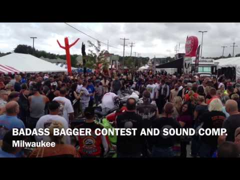 Milwaukee 110th anniversary Badass Bagger Show and Stereo C
