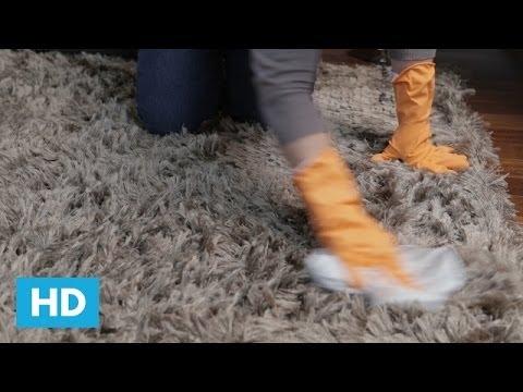 Como limpar Tapetes