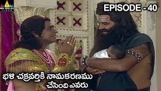 భళి చక్రవర్తికి నామకరణము చేసింది ఎవరు? Vishnu Puranam Telugu Episode 40/121 | Sri Balaji Video - SRIBALAJIMOVIES