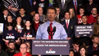 بالفيديو .. بول راند يشن أول هجوم جمهوري على هيلاري كلينتون