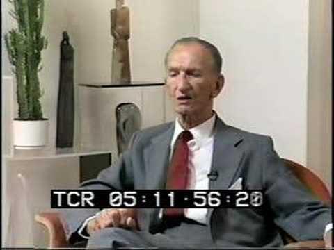 Jan Karski wspominający wojnę