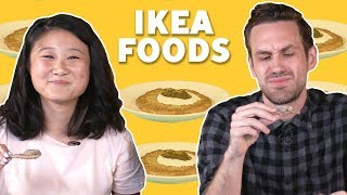 We Tried Ikea Foods 🛋️ TASTE TEST - FOODNETWORKTV