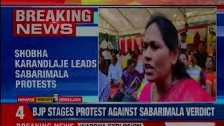 Kerala CM:BJP, RSS leading protests at Sabarimala, Cong supporting them' - NEWSXLIVE
